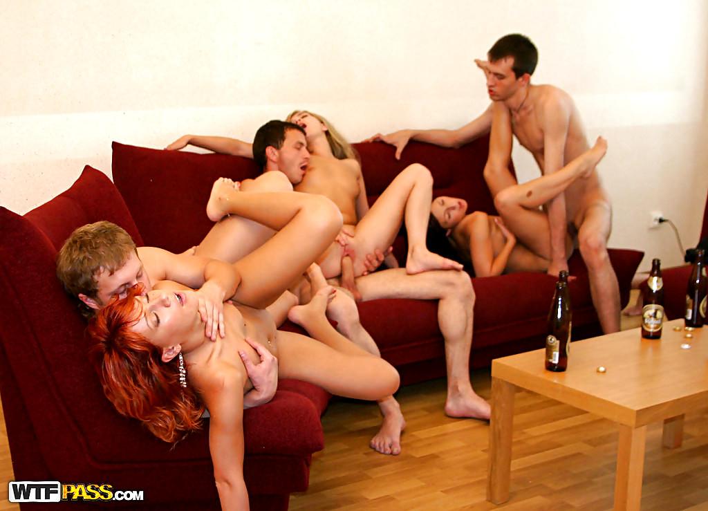Порно Группа Общага