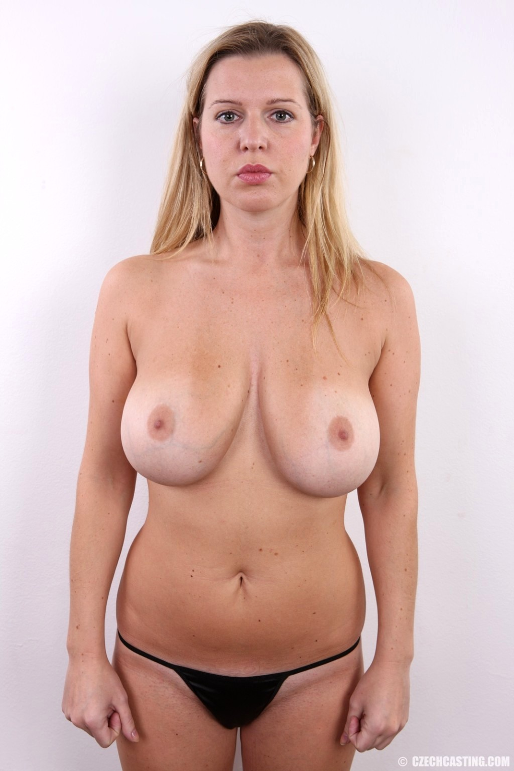 Young Czech Girl Lucie Wilde Shows Her Nice Natural Big Tits
