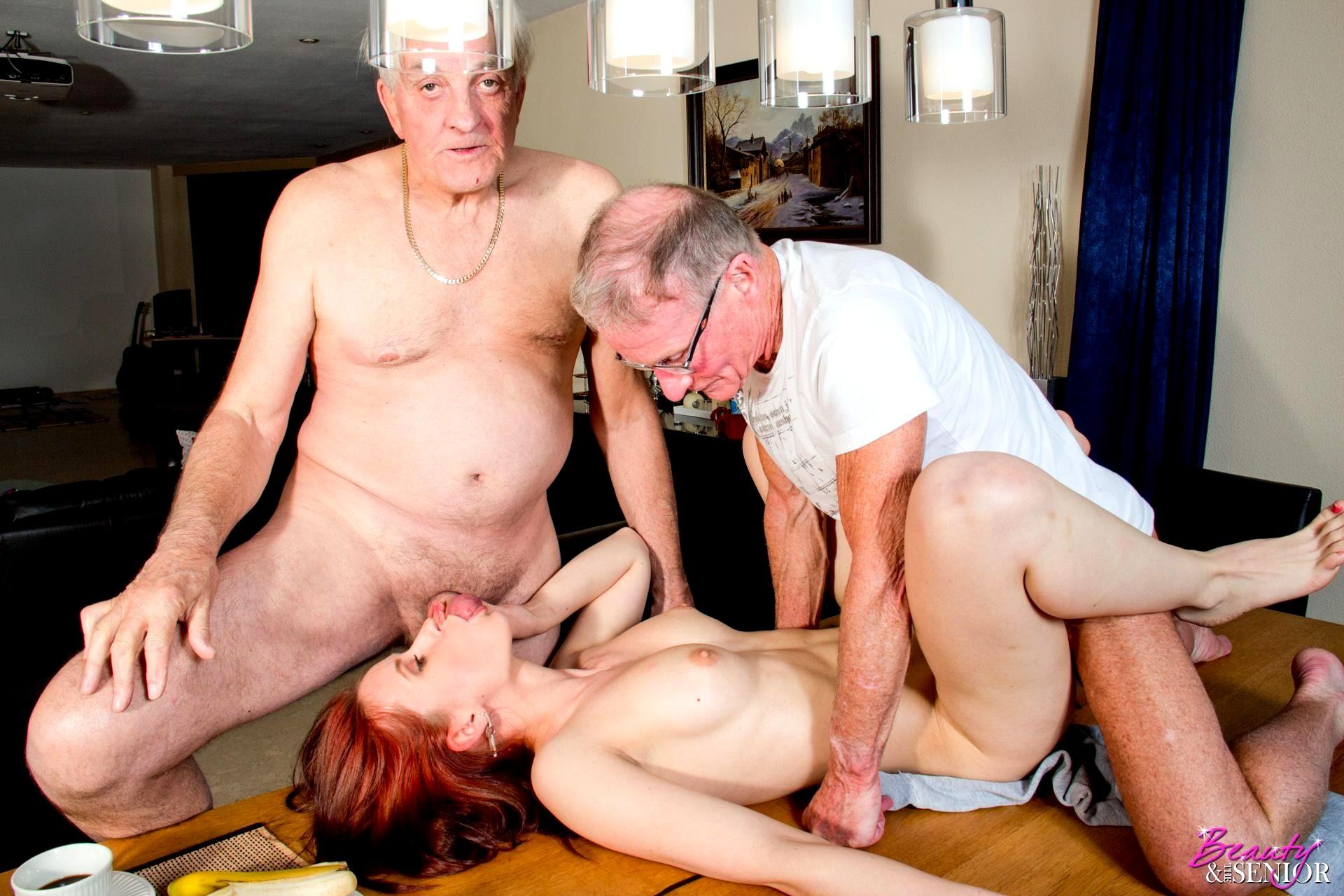 Инцест в хорошем качестве с дедом