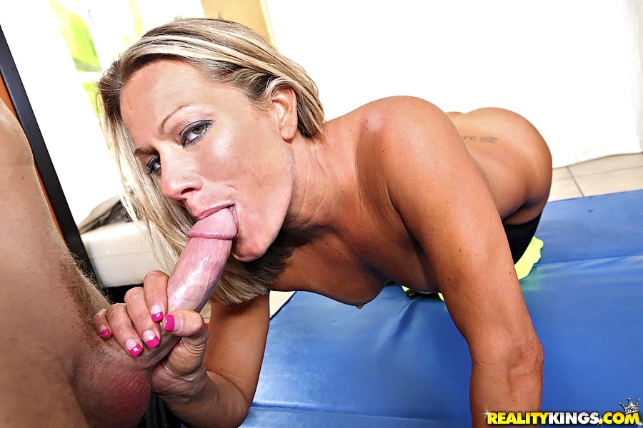 Sexy Blonde Allura Jenson Fucked Hard By Young Stud