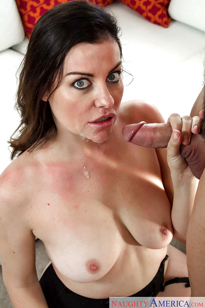 Horny As Hell Milf Sovereign Syre Enjoys Riding Young Pecker Picture