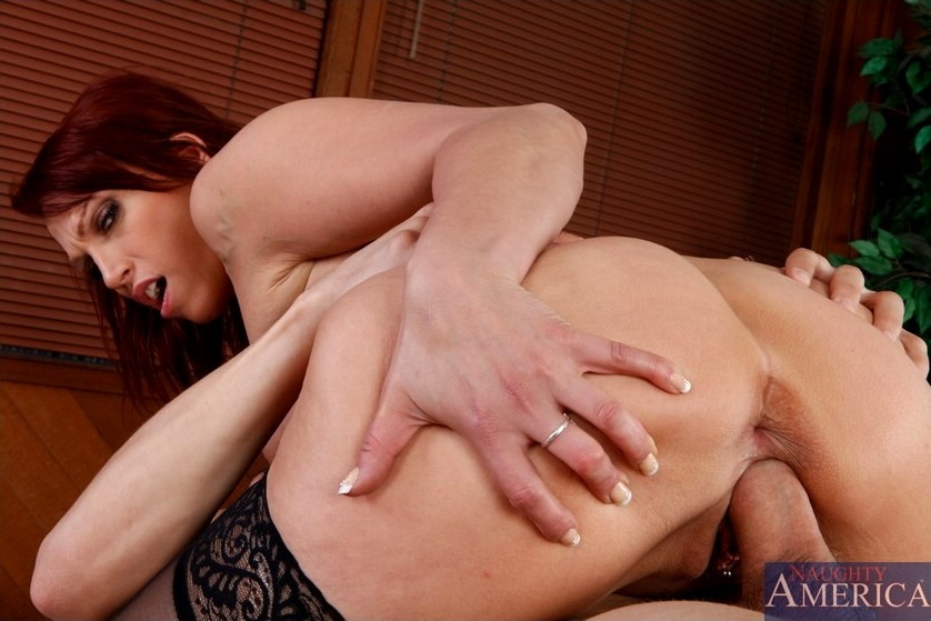 Pornstar Nicki Hunter With Big Round Tits Features In Hardcore Fucking Pics
