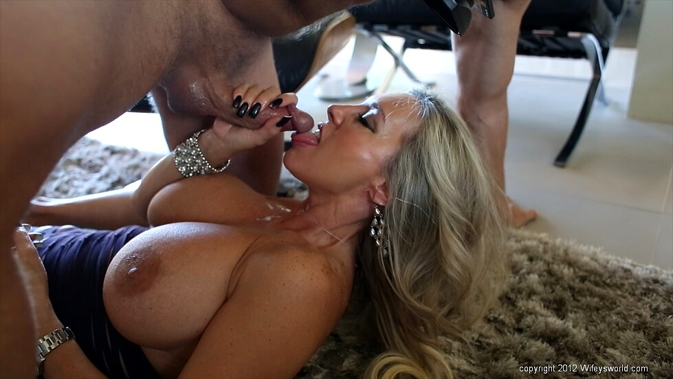 Sybil Stallone, Ricky Spanish In Don't Clean Our House, Clean My Dick, Hd